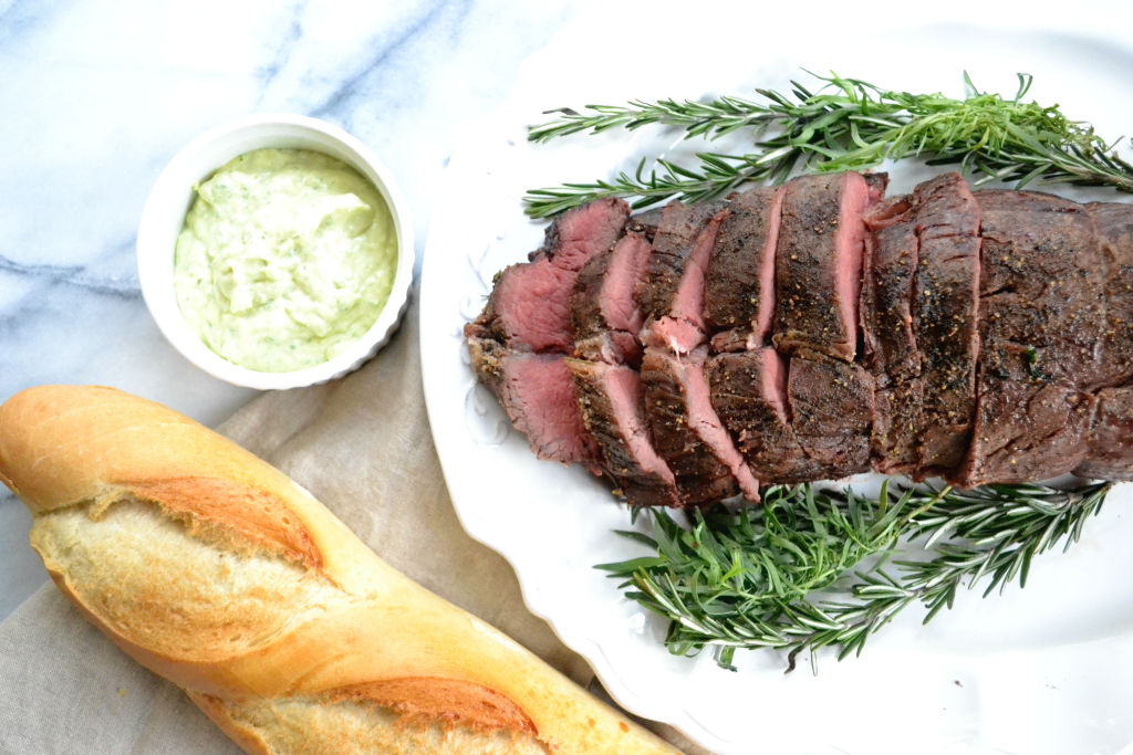 Herb-Roasted Filet of Beef Tenderloin