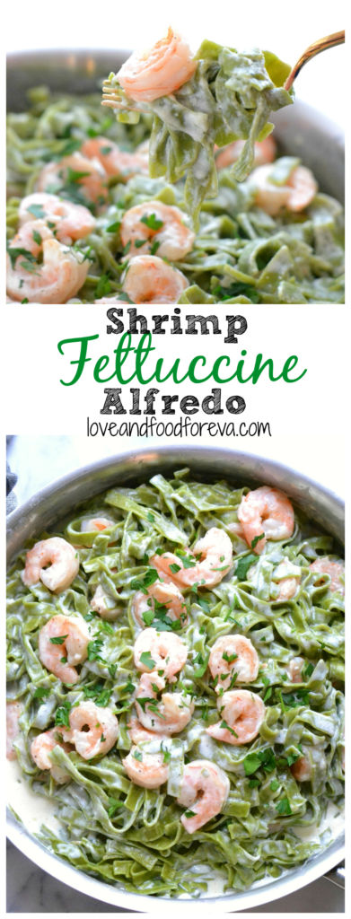 shrimp fettuccine pinterest