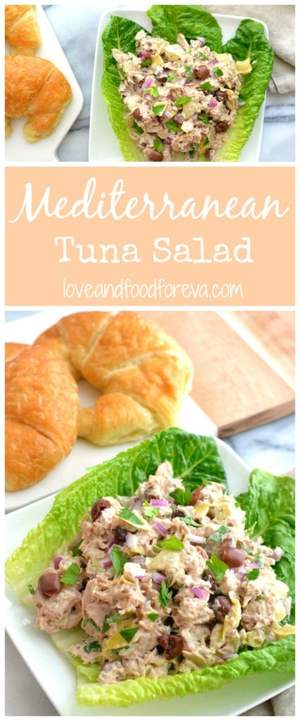 Try this scrumptious recipe for Mediterranean Tuna Salad - a spin on a classic lunch staple!