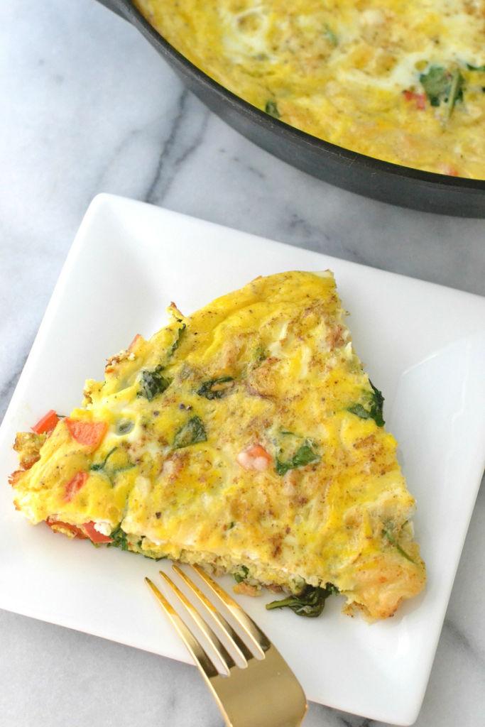 love_and_food_foreva_crab_arugula_frittata_slice