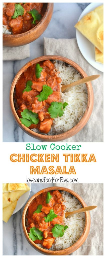 Slow Cooker Chicken Tikka Masala is fast, easy, and will make your taste buds dance!