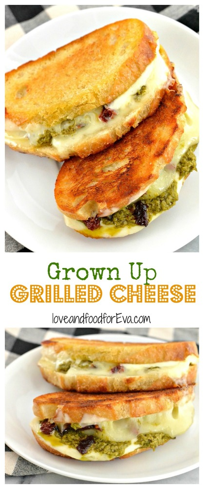 Who says grilled cheese is just for kids? Upgrade the classic ingredients for an incredible Grown Up Grilled Cheese!