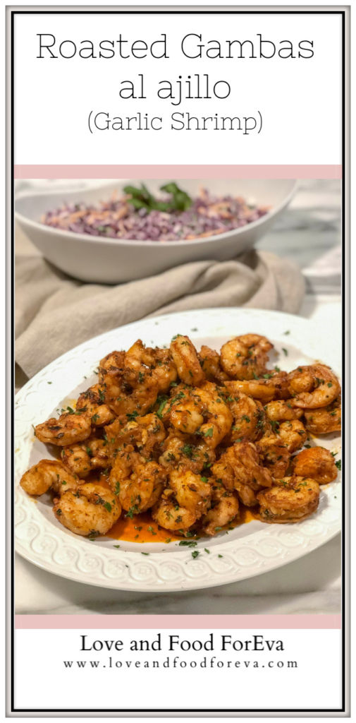 A delectable dish inspired by Spanish-style garlic shrimp - easy enough for a quick weeknight meal, yet elegant enough for a fancy dinner!